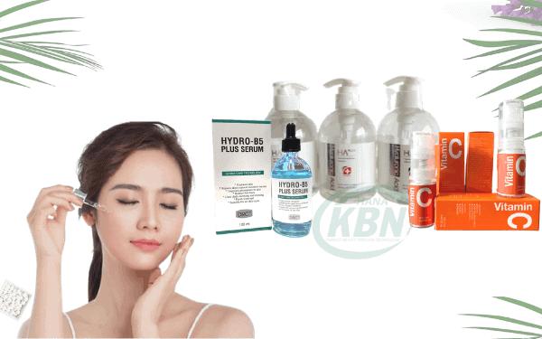 Dùng serum dưỡng chất để bổ sung và dưỡng cho da luôn chắc khỏe
