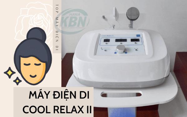 Máy điện di Cool Relax II – Thiết bị chăm sóc da toàn diện