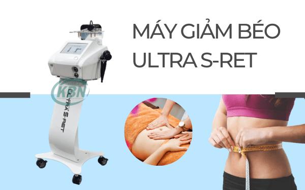 Máy giảm béo - nâng cơ Ultra S-Ret, giúp làm thon gọn và săn chắc cơ thể