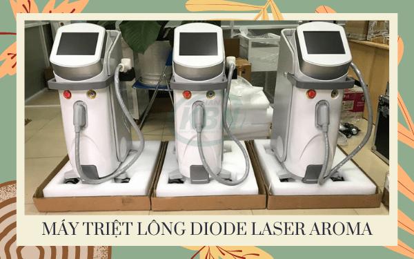 Hình ảnh thực tế của máy Diode Laser Aroma tại Hanakbn