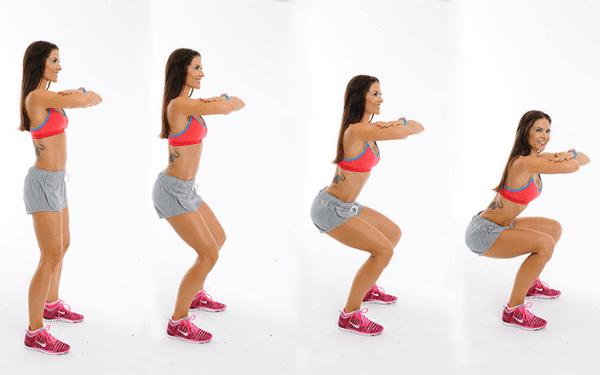 Squats giúp làm giảm lưỡng mỡ thừa trong cơ thể một cách hiệu quả, an toàn