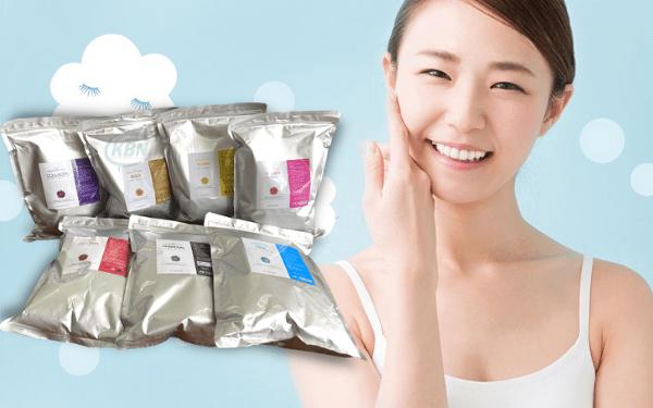 7 loại bột mặt nạ cho spa