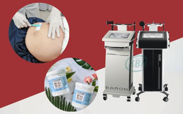 Các dòng máy nâng cơ trị rạn hay dùng cho spa, thẩm mỹ