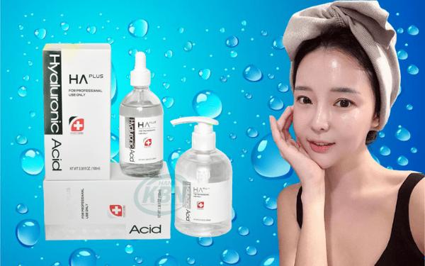 Serum HA Plus có khả năng cấp ẩm, khóa ẩm, giúp da săn chắc, căng bóng
