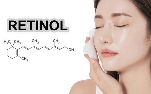 Retinol là một dẫn xuất từ Vitamin A, là một thành phần được sử dụng nhiều trong mỹ phẩm