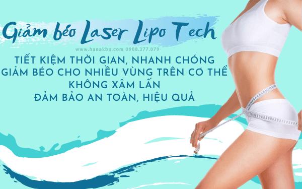 Ưu điểm của giảm béo bằng công nghệ laser lipo tech