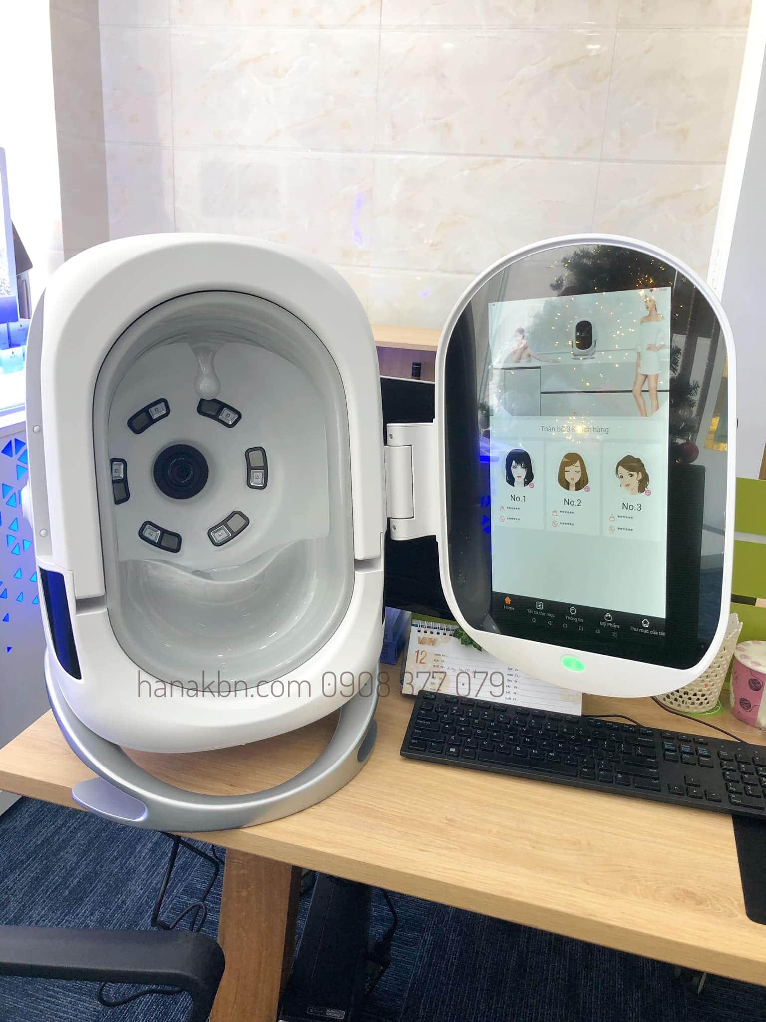Máy phân tích da Smart Mirror Pro công nghệ mới