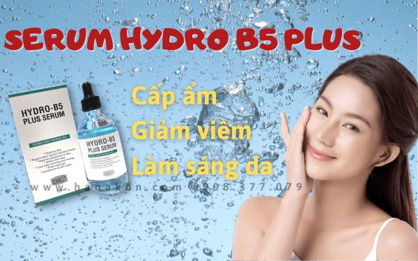 Hình ảnh serum Hydro B5 Plus giúp da luôn khỏe mạnh