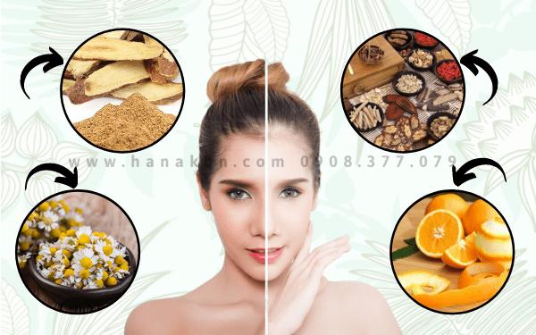 Các loại chiết xuất giúp làm trắng da, ức chế melanin