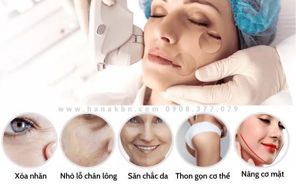 HIFU được ứng dụng rộng rãi cho liệu trình trẻ hóa da, làm thon gọn, săn chắc body