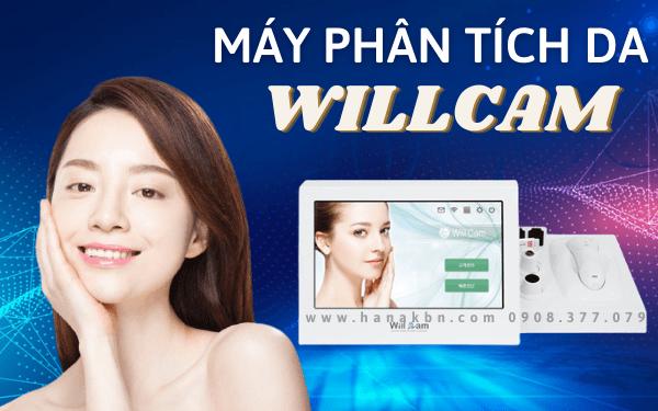 Hình ảnh máy phân tích da mặt Willcam