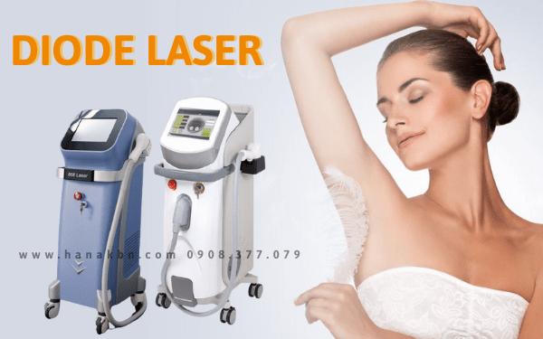 Các dòng máy triệt lông Diode Laser chính hãng, cao cấp cho spa